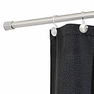 Halterung Für Duschvorhang : interdesign forma duschvorhangstange 78470eu hochwertige duschstange ohne bohren duschvorhang ~ Markanthonyermac.com Haus und Dekorationen