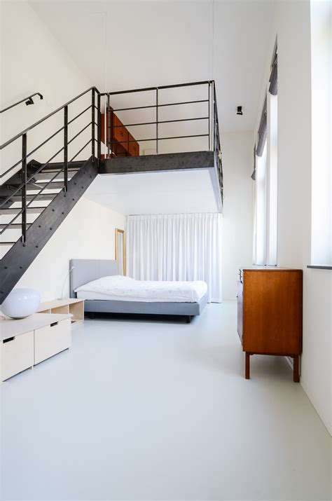 Open Loft Like Family Home Relaxed Feeling by Schoolhouse Converted Into 10 Loft Apartments