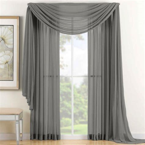 Silver Gray Valances by Best Linen Warehouse Inc On Walmart Seller Reviews