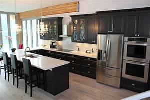 charcoal kitchen cabinets country kitchen design with With kitchen colors with white cabinets with wall art metal large