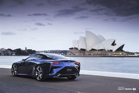 lexus blue lexus lf lc concept blue five axis