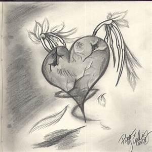Pencil Drawings: Heart Drawings In Pencil
