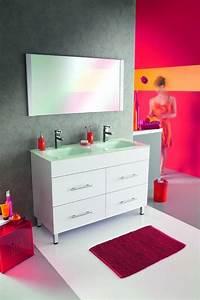 mobiliers de salle de bain comparez les prix pour With porte d entrée alu avec plan vasque salle de bain 140 cm