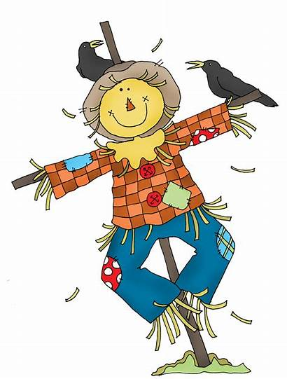 Scarecrow Scarecrows Fall Printable Competition Clip Drawing