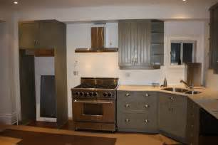 Kitchen with Corner Sink and Cabinet