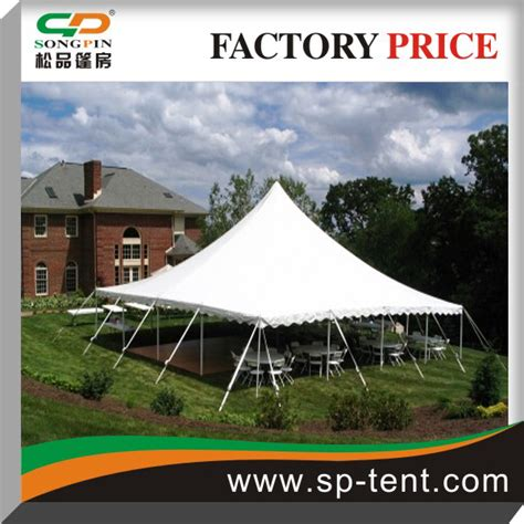 on sale heavy duty cheap gala pole tent with foldable