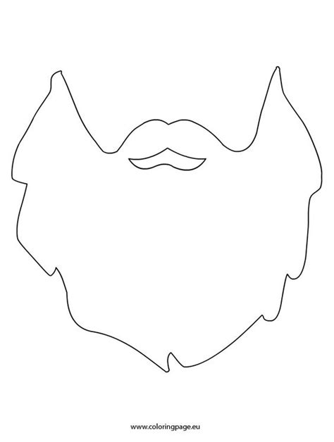 beard template templates and beards on