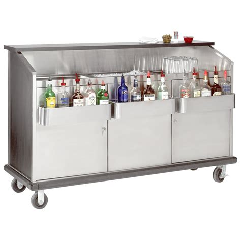 Portable Bar by Advance Tabco Amd 5b 61 Quot Heavy Duty Portable Bar With