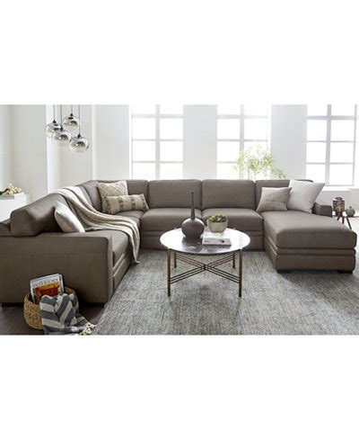 Living Room Furniture At Macy S by Avenell Sectional Collection Created For Macy S