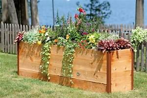 Hochbeet Blumen Bepflanzen : hochbeet im garten eine sch ne gartengestaltungsidee ~ Watch28wear.com Haus und Dekorationen