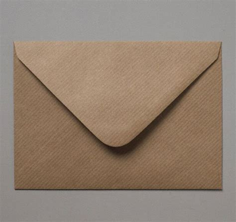 a 7 envelope c7 brown ribbed kraft a7 cards invitation rsvp envelopes