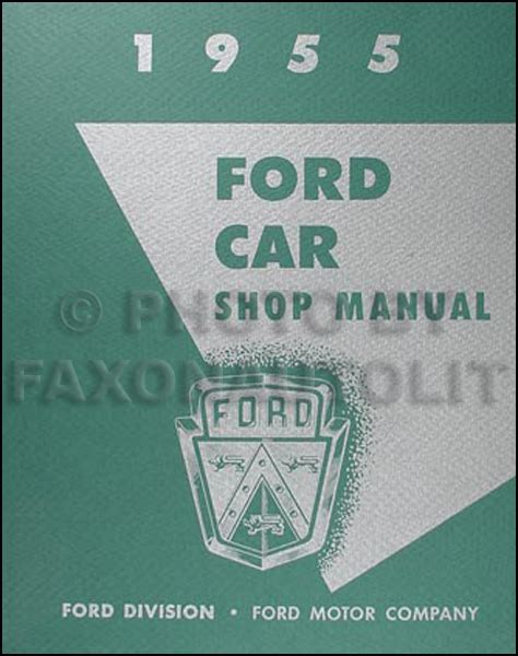 Ford Car Thunderbird Wiring Diagram Manual Reprint