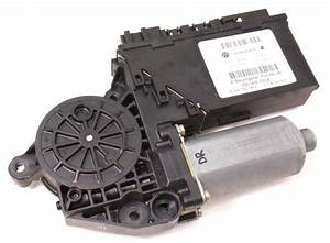 Lh Rear Power Window Motor  U0026 Module 04-06 Vw Phaeton