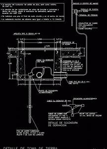 Electrical Grounding  Earth Dwg Detail For Autocad