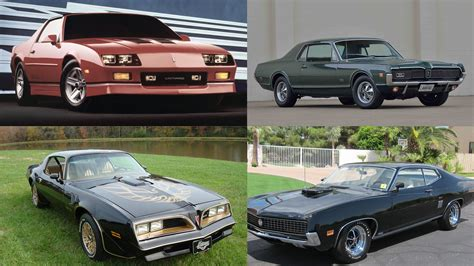 cool muscle cars   buy