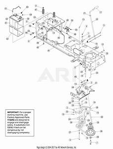 Mtd 13ag601h729  2005  Parts Diagram For Pto