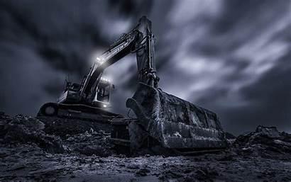 Excavator Excavators Machine Bucket Wallpapers Vehicles Background