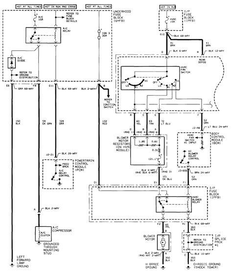 2000 Saturn Sl Wiring Diagram by I 2000 Saturn Sl1 The Ac Compressor Will Not Turn On