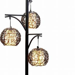 triple wicker floor lamp kirkland39s tampa condo With kirklands white floor lamp