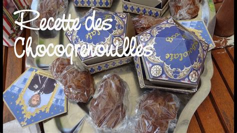 recette des chocogrenouilles    chocolate frogs youtube