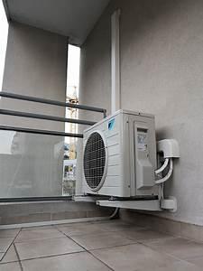 Installation D Une Climatisation : installation d 39 une climatisation r versible de type mural daikin rxb35c pour le salon d 39 un ~ Nature-et-papiers.com Idées de Décoration