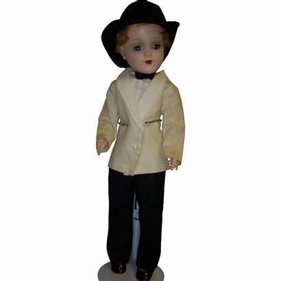 Boy Doll 1950s Mary Hoyer Ruby