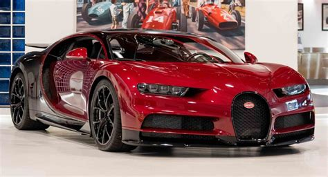 Roughly thar car costed more than twice the price it was sold for, which comes down to every other. Classy Red Bugatti Chiron Is A Once-In-A-Lifetime Buy   Carscoops