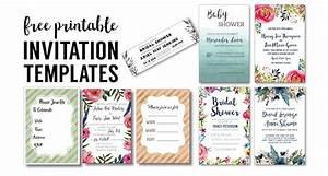 party invitation templates free printables paper trail With wedding invitation templates online edit free
