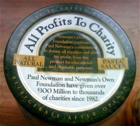 paul newman alfredo sauce fun fact friday newman s own profits go to charity