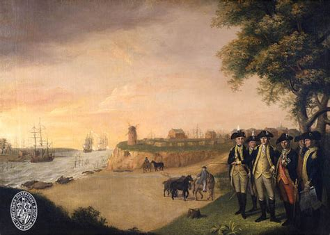 george washington   generals  yorktown maryland