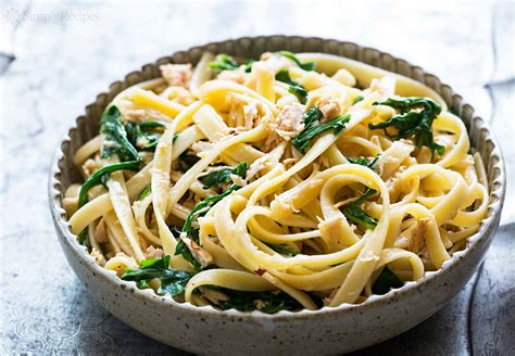 and recipe pasta with tuna and arugula recipe simplyrecipes com