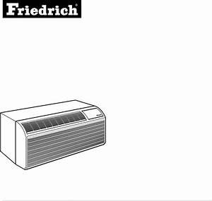 Friedrich Air Conditioner Pe07r  B User Guide