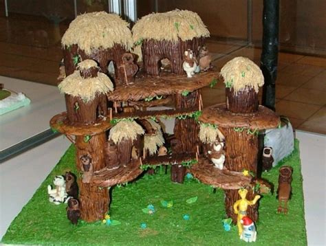 eat  ewoks   gingerbread endor forest