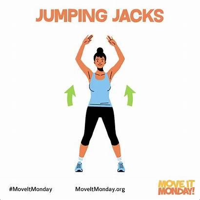 Jumping Jacks Break Take Sweat Move Legs