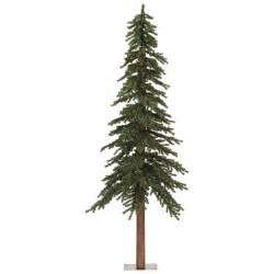 vickerman 7 natural alpine green artificial christmas tree reviews wayfair