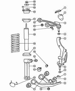 2005 Jeep Liberty Shock Absorber  Suspension  Front  Right Or Left  Duty  Normal  Spring