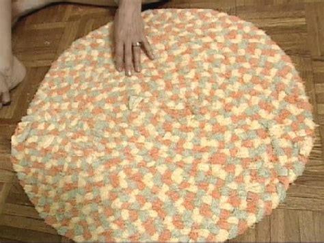 braided towel rug hgtv