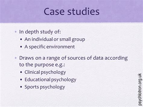 Today We Will… Recall What A Case Study Is And Some