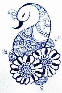 Mehndi Peacock Digital Art by Jessica Petty