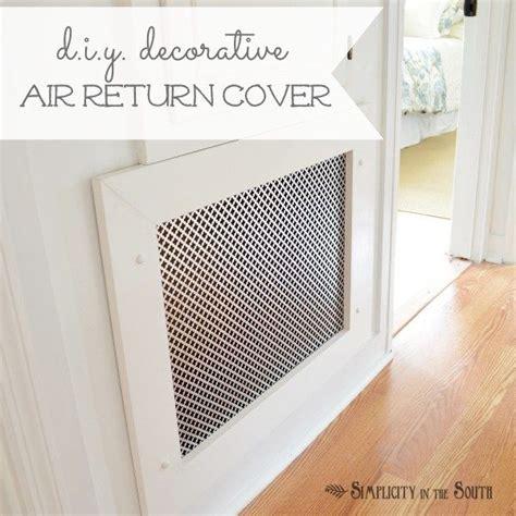 decorative air return vent cover air
