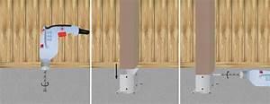 Comment Fixer Un Poteau Bois Au Sol : construire une pergola en bois pergola ~ Dailycaller-alerts.com Idées de Décoration