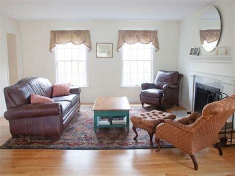 living room makeover   budget hgtv