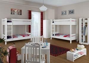Hochbett Holz 90x200 : hochbett f r erwachsene wei 90x200 etagenbett teilbar rollroste matratzen w t100 m ~ Frokenaadalensverden.com Haus und Dekorationen