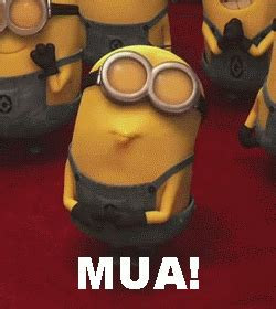 minion pictures goodnight | minion-kiss | Funny Animated ...