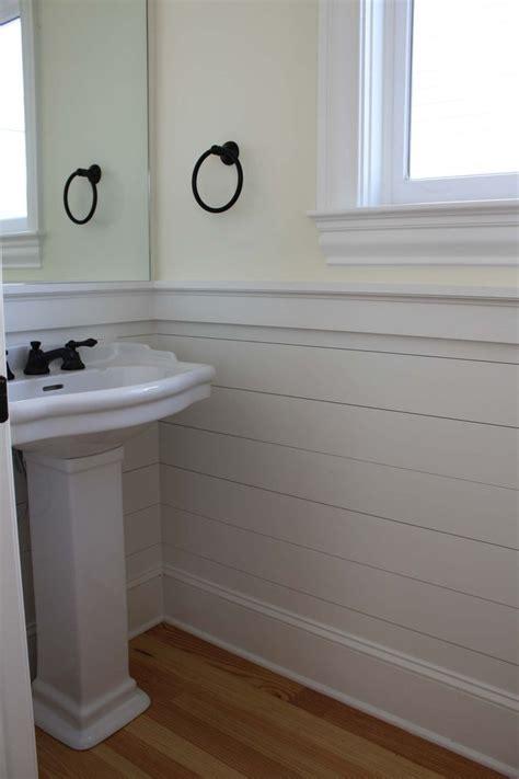 bathroom paneling ideas shiplap wainscoting bathroom pinterest vinyls bathroom ideas and powder