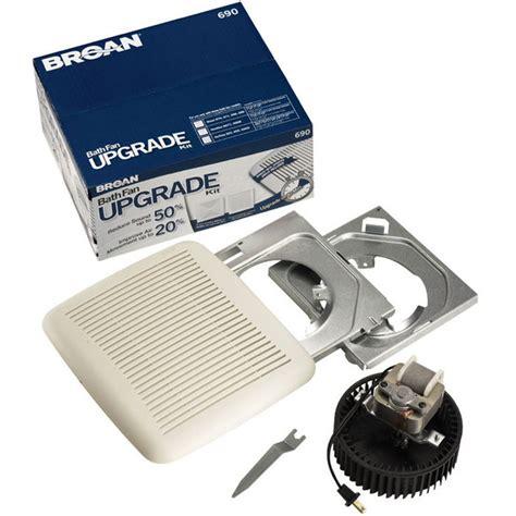 broan bathroom fan installation instructions broan 690 bath fan upgrade kit 60 cfm 3 0 sones