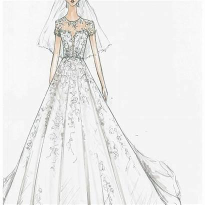 Sketch Bridal Oleg Cassini Brides David Sketches