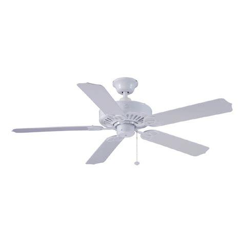 shop harbor breeze 52 quot calera white ceiling fan energy