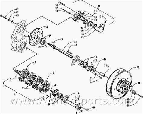 arctic cat atv parts diagram cat and