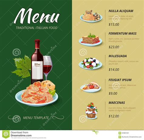menu cuisine menu card template imgkid com the image kid has it